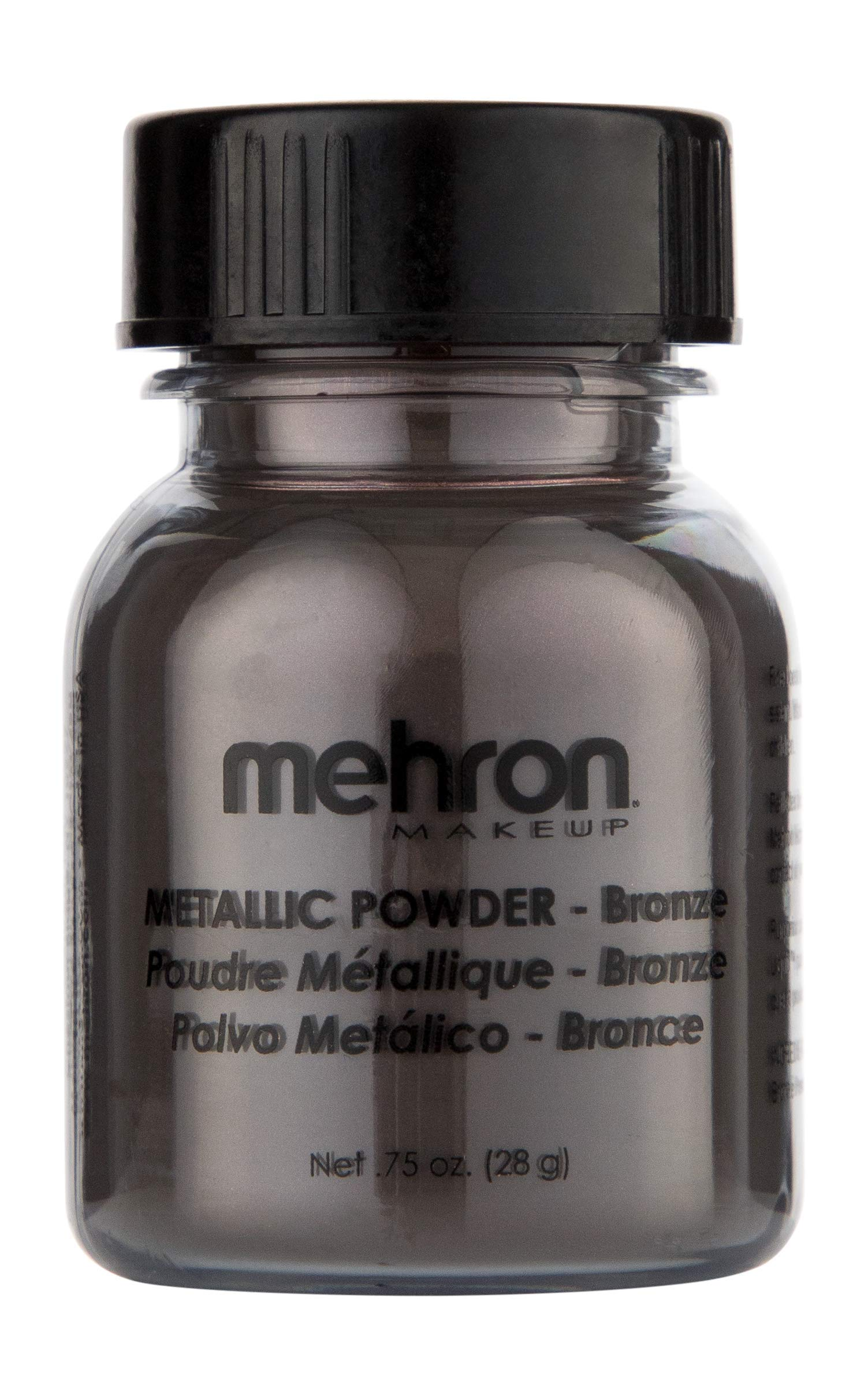 Mehron Makeup Metallic Powder (.75 oz) (BRONZE)