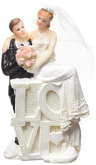 Neu Deko Figur Hochzeitspaar Mann Frau Love Amazon De Spielzeug
