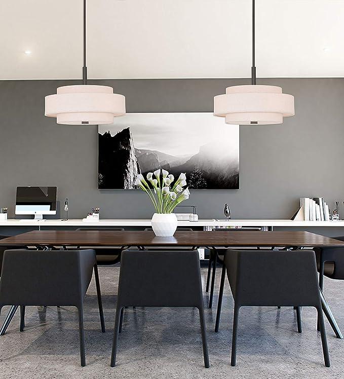 Amazon.com: livex iluminación 50875 Meridian 5 luz colgante ...