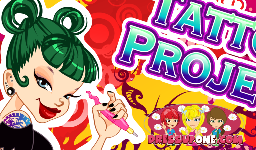 Tattoo shop project girls games amazon for Tattoo shop games
