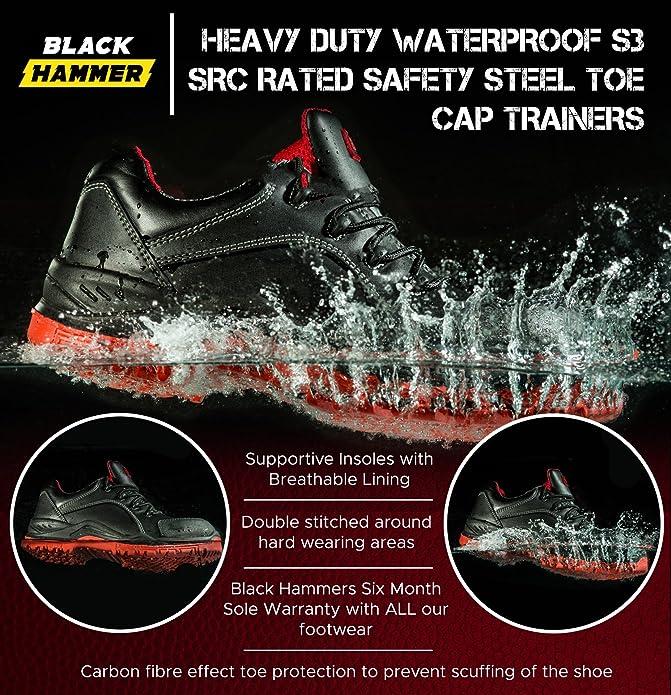 Zapatillas de Seguridad Impermeables y ultraligeras. con Puntera de protección de Composite y Entresuela de Kevlar. Ideales para el Trabajo y con protección ...