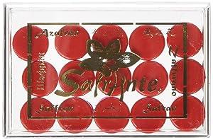 Premium Spanish Saffron Powder Cat.1 Acrylic Box, 15 x .100 Gram Capsules (1.5-Gram)