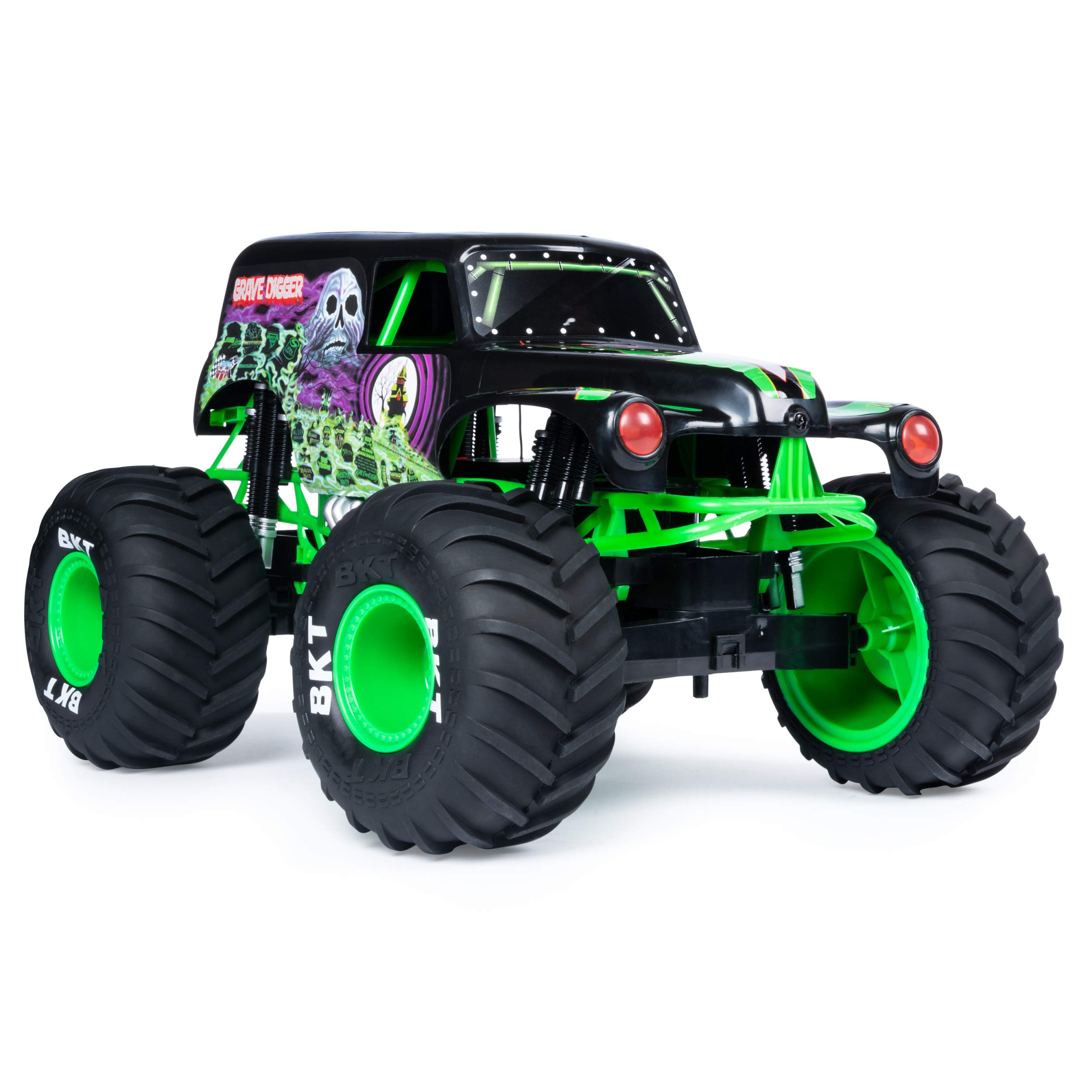 Monster Jam Official Grave Digger Rc Truck 1: 10 Scale with Lights & Sounds For Ages 4 & Up by Monster Jam (Image #4)