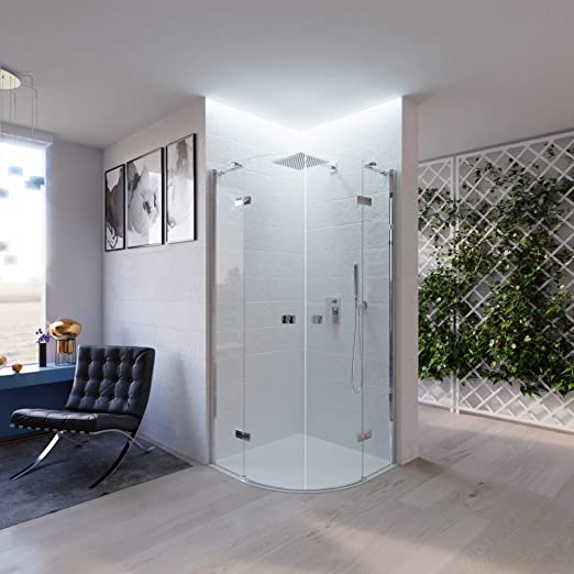 OL duchas mampara de Ducha eph h195 CM 1 Puerta batiente de ...