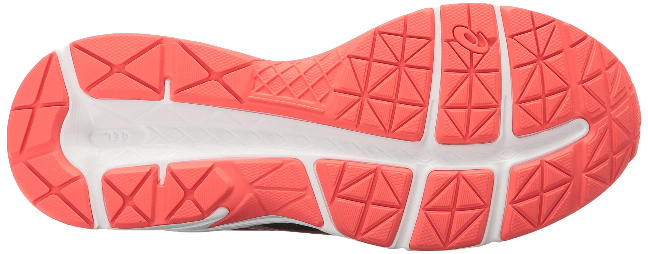 ASICS Women's Gel-Contend 4 Running Shoe, Black/Silver/Flash Coral, 5 M US by ASICS (Image #3)
