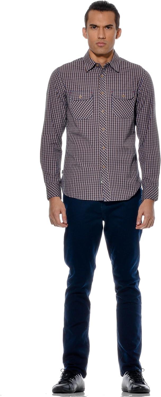 Element Camisa Macken Azul S: Amazon.es: Ropa y accesorios