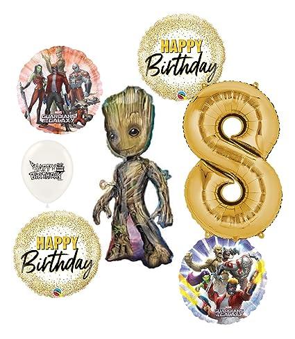 Amazon.com: Guardianes de la galaxia Groot 8th cumpleaños ...