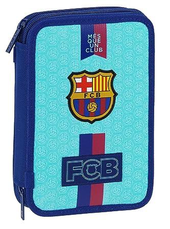 Barcelona FC - Plumier de doble compartimento 34 piezas ...