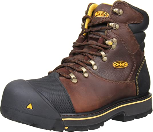 Bota de trabajo Milwaukee de punta de acero, 6 pzas, marrš®n, 7 EE EE. UU.: Amazon.es: Zapatos y complementos