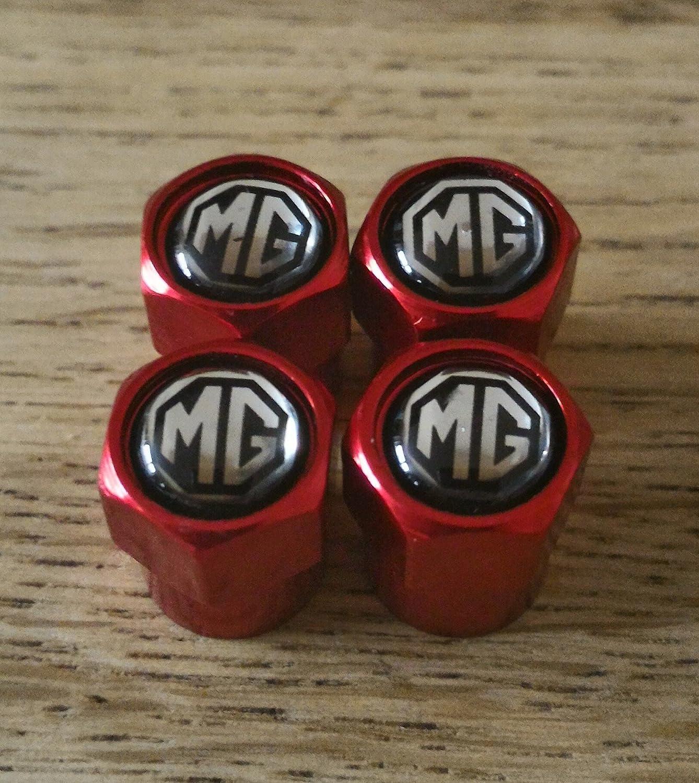 Speed Demons MG Noir Rouge supé rieurs de la Roue Bouchons de Valve Casquettes d' US Seul MG3 MG6 6GT MAGNETTE 6 15MY Capuchon de Valve Speed Demons ®