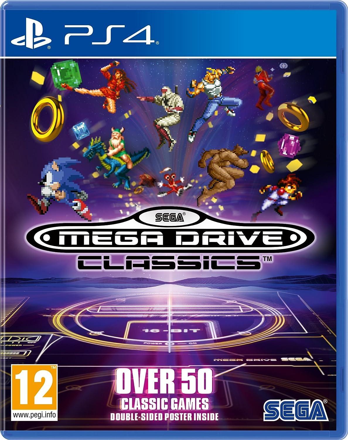 SEGA Mega Drive Classics (PS4): Amazon co uk: PC & Video Games