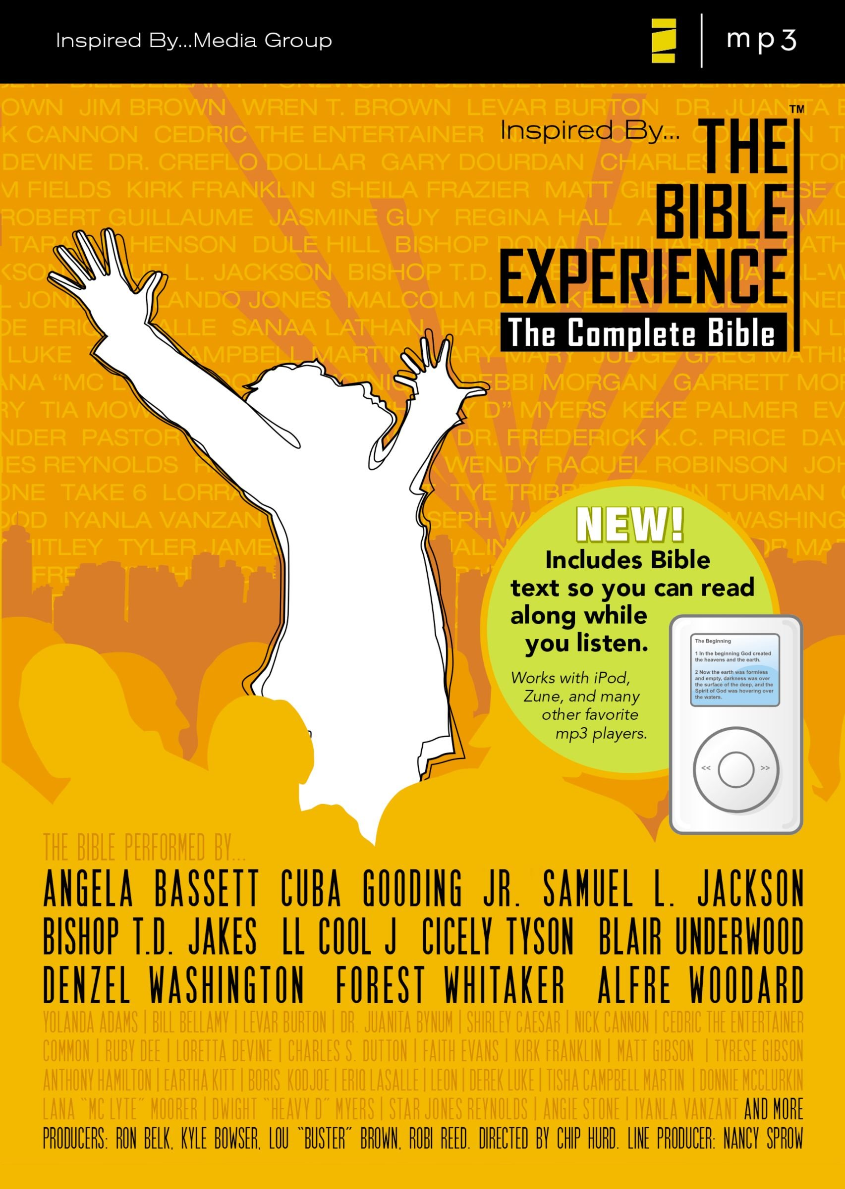 Inspired By The Bible Experience The Complete Bible Zondervan