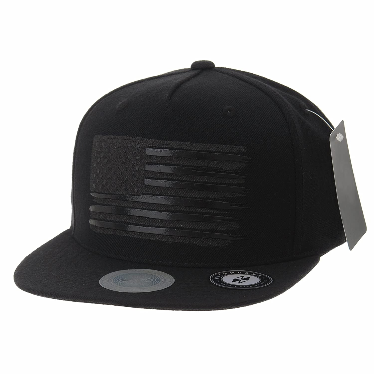 98ba1f2991641 Snapback closure for Adjustable and custom fit. Nicely finished   Light  weight fabric. To view more of our products visit  www.amazon.com shops WITHMOONS