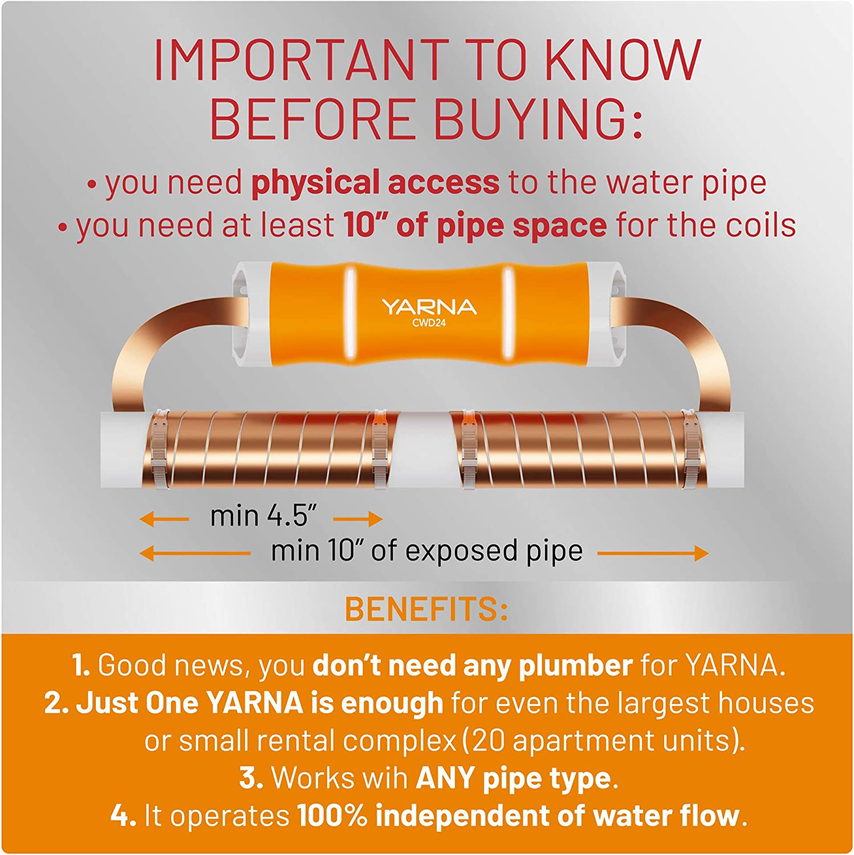 YARNA CWD24 Electronic Water Descaler