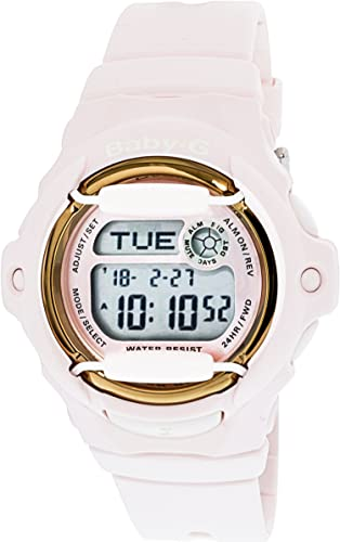 be348af521bea Image Unavailable. Image not available for. Color  Casio Women s Baby-G  BG169G-4B Pink Polyurethane Quartz Sport Watch