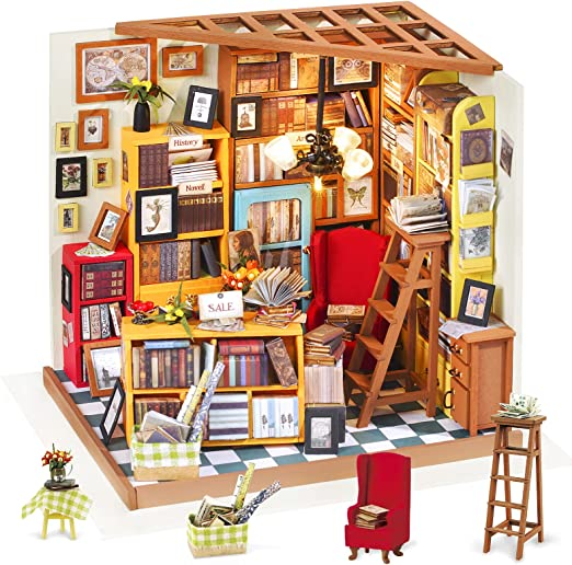 Knorr craft pack DIY mirror commode dollhouse furniture crafting