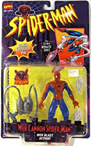 Spider-Man Action Figure Web-Cannon Spider-Man [Missile Launcher & Grappling Hook]