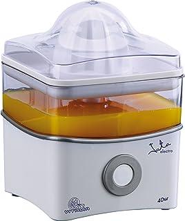 Jata EX400 Exprimidor eléctrico 40 W, 0.8 litros, 0 Decibeles, PU, Blanco