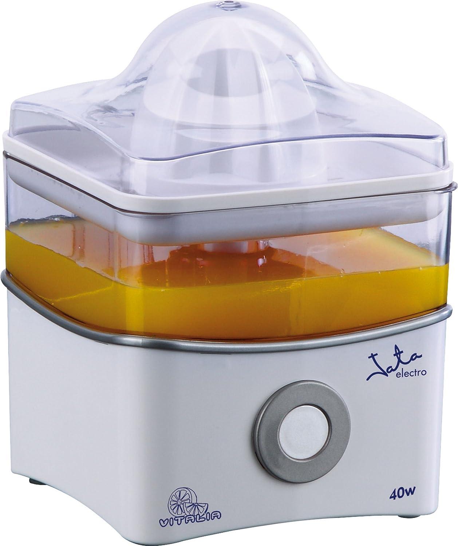 Jata Exprimidor eléctrico EX400 - Rotación bidireccional, Dos conos, Desmontable, Base antideslizante,