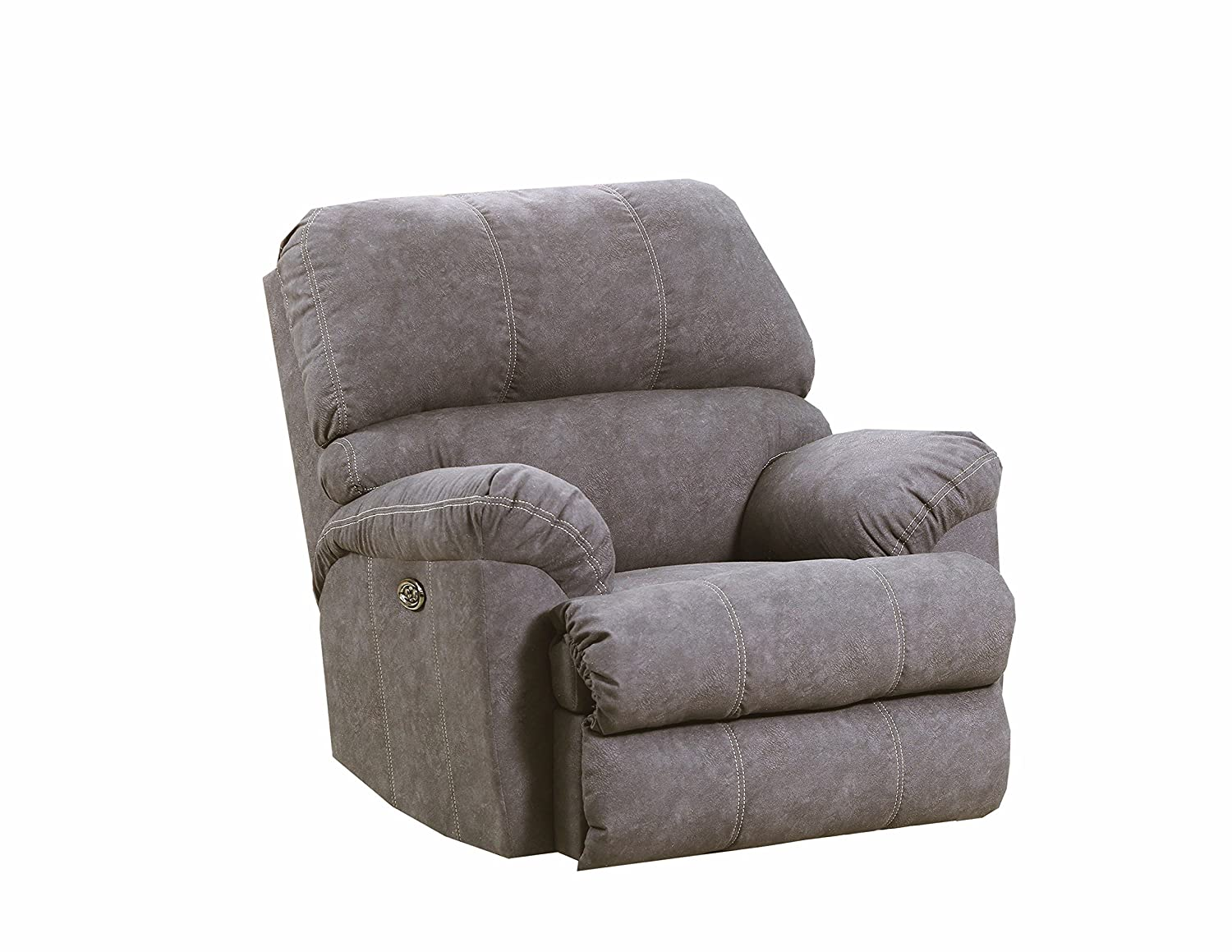 Amazon.com: Simmons Upholstery 9511P-19 Palermo Charcoal ...