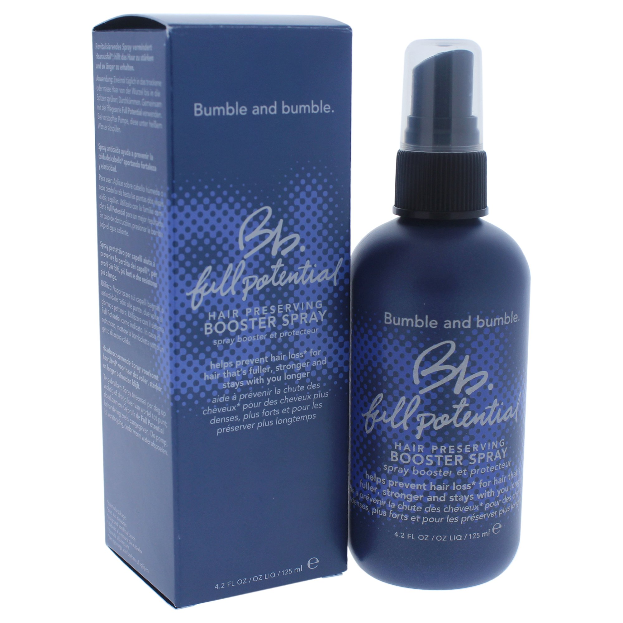 Bumble and Bumble BB Full Potential Hair Preserving Booster Spray, 4.2 Ounce by Bumble and Bumble
