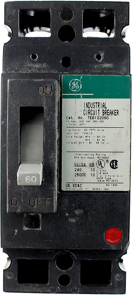 X Ge General Electric 20 amp circuit breaker THQL2120