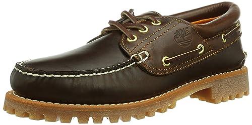 Timberland 3 Eye Classic Lug, Mocasines para Hombre, Marrón (Brown), 45.5 EU: Amazon.es: Zapatos y complementos