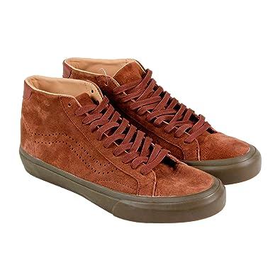 a4470a8545 Vans Court Mix Dx Mens Brown Suede Lace Up Lace Up Sneakers Shoes 9