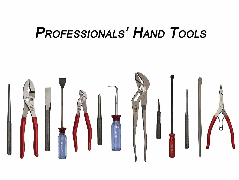 Wilde Tool PLT 632 Long Taper Punch 3//16 inch PLT 632.NP//HT
