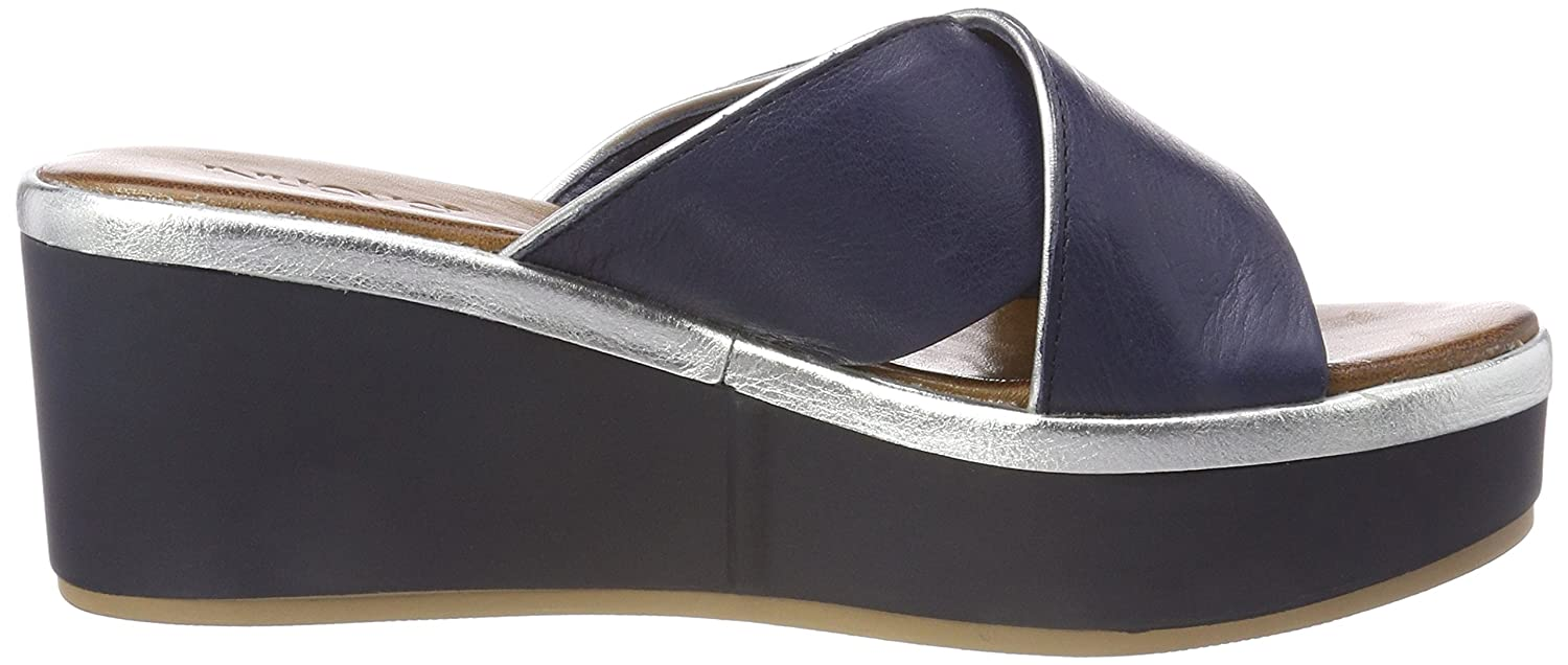 Inuovo Inuovo Inuovo Damen 8678 Zehentrenner, Blau (Navy-silver) d4f86b