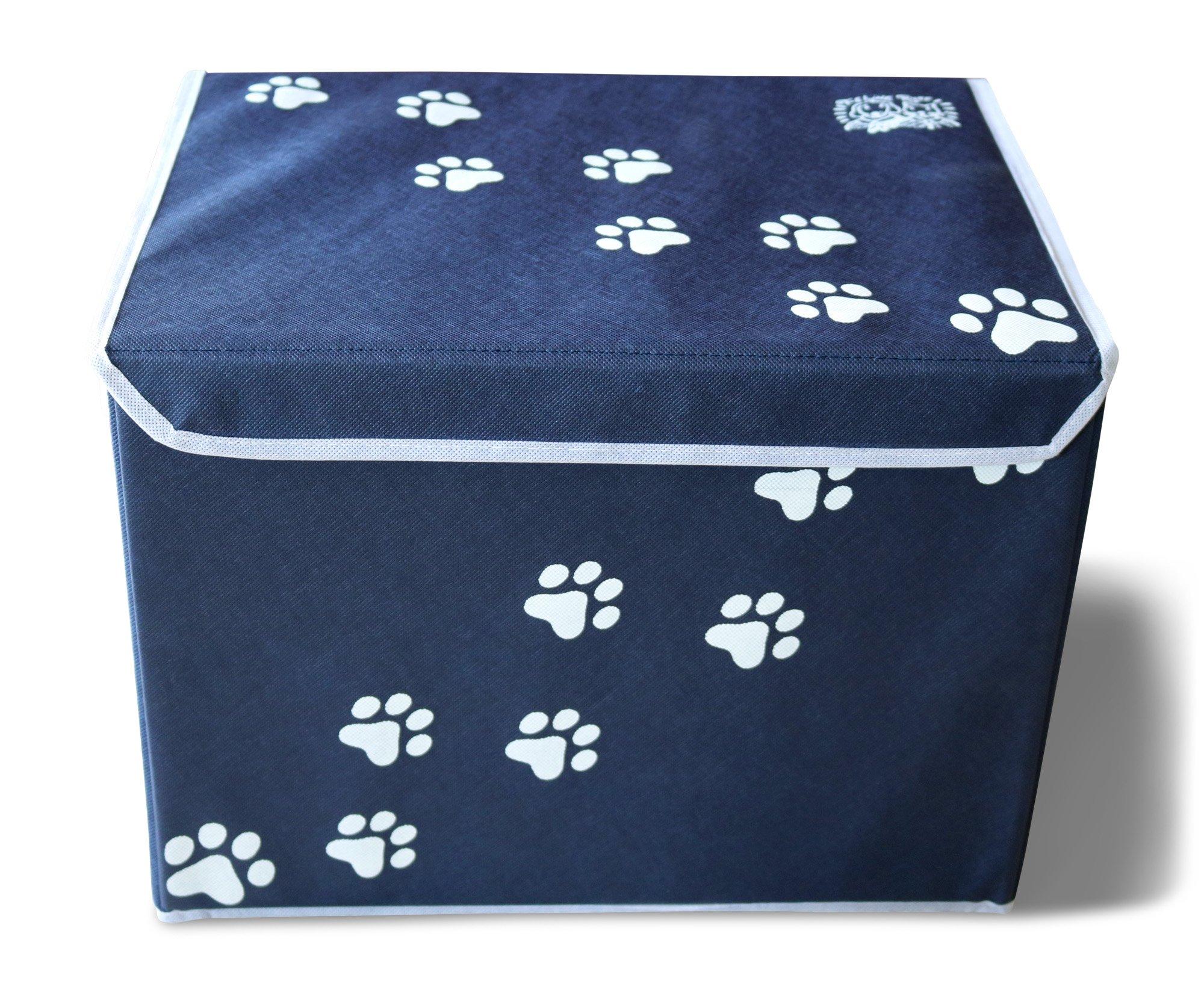 Feline Ruff Large Dog Toys Storage Box 16 X 12 Inch Pet