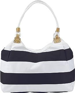 9039ae73e716f Strandtasche Badetasche aus 600D Polyester zwei lange Schultergurte im  Kordeldesign