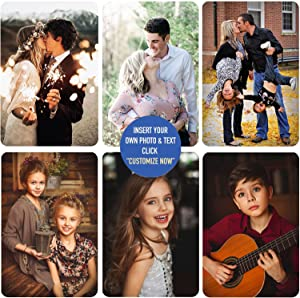 Personalized Custom Photo Metal Decorations Print Your Photos On Vertical Metal Sign Family Living Room Office Bedroom Patio Balcony Wall Decor Art Plaques Signs Gift
