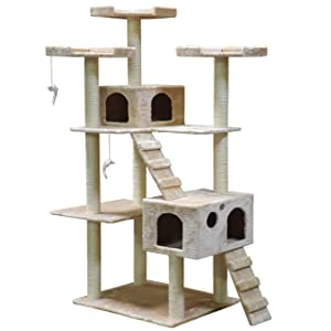 Go Pet Club Cat Tree 72in