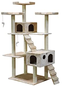Go Pet Club Cat Tree F2040 - Beige