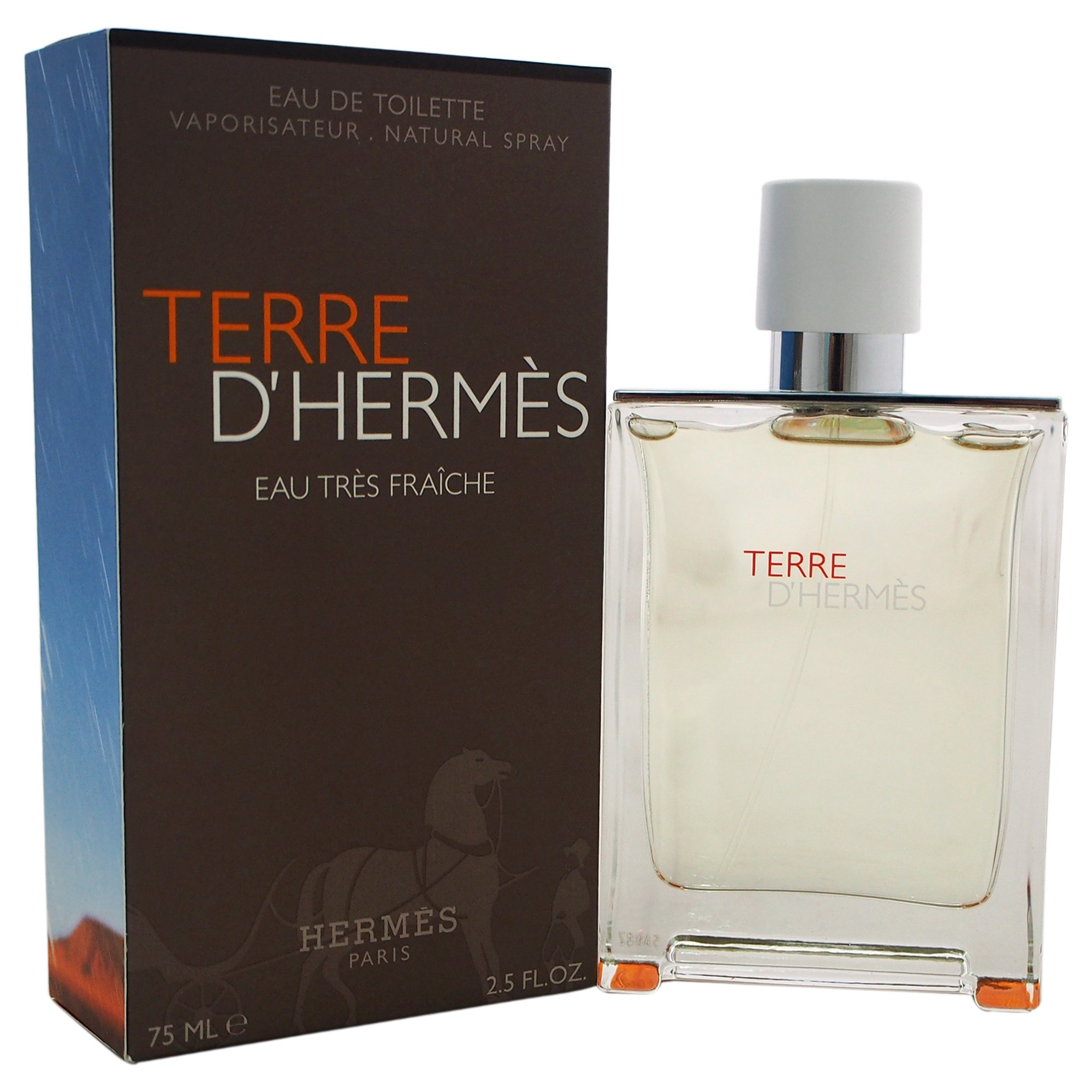 Hermes Terre d'Hermes Eau Tres Fraiche Cologne, 2.5 Ounce by HERMES