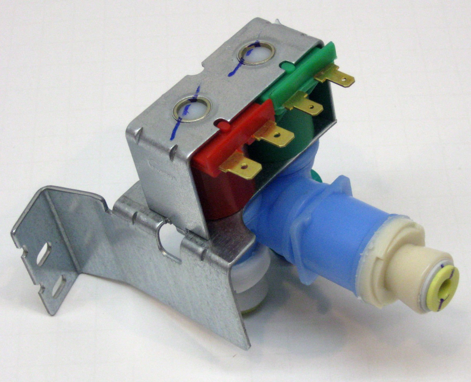 Refrigerator Water Inlet Valve Part W10408179 How To Replace ...