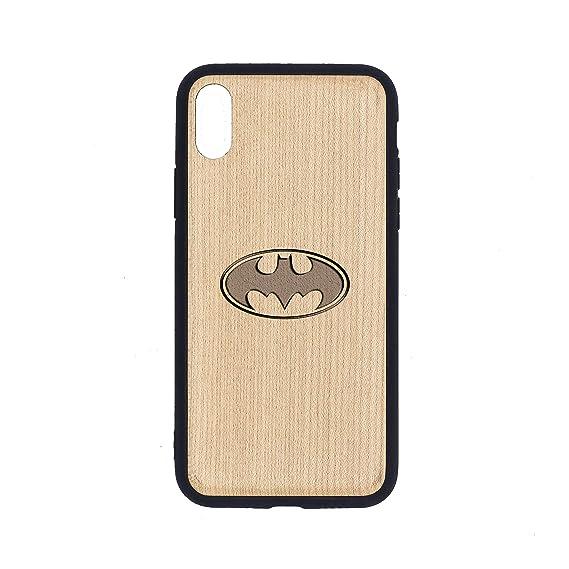 Amazon Com Logo Batman Iphone Xs Case Maple Premium