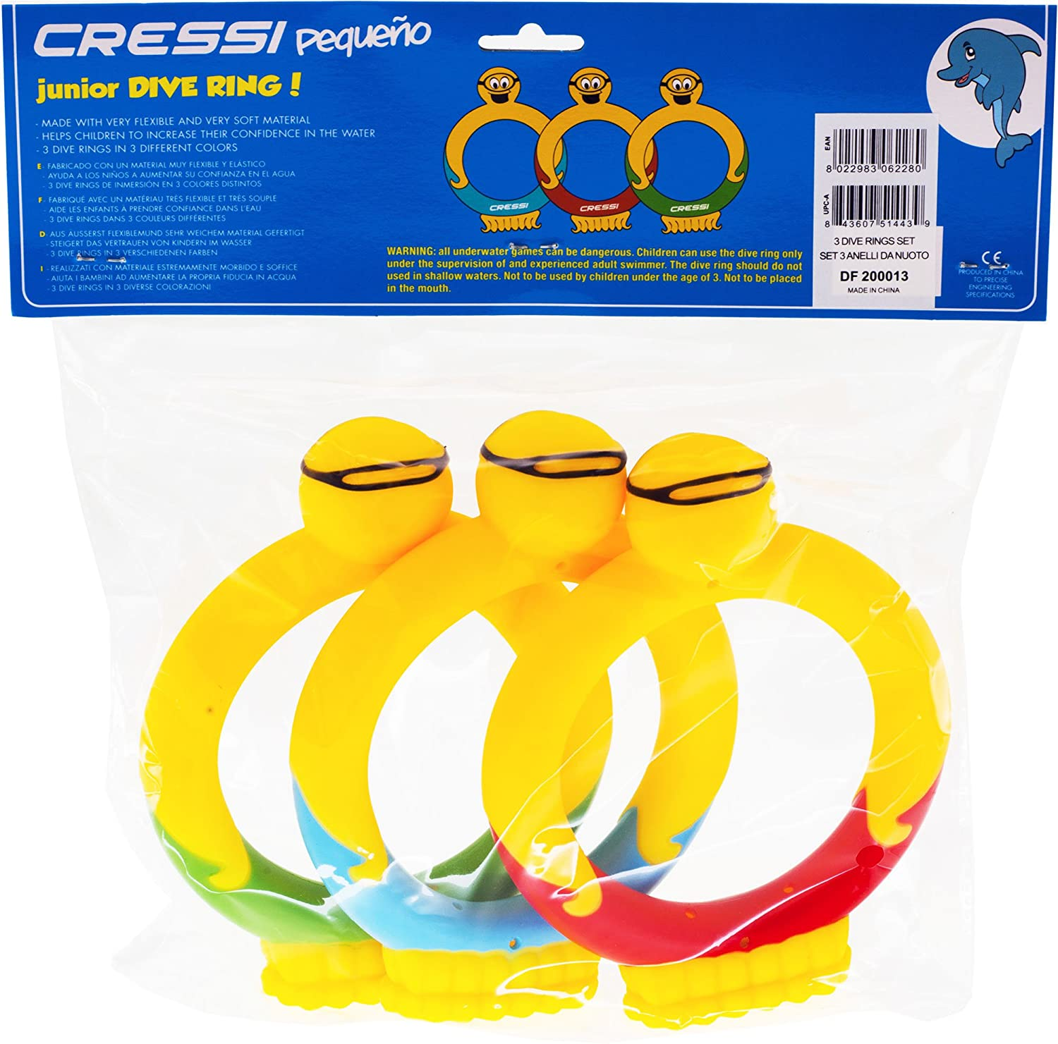 be2a704547a Amazon.com   Cressi Toddlers Kids Training Toys for Swimming Pool and Play