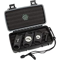 Mantello Reserve Cigar Travel Humidor and Cutters Cigar Gift Set
