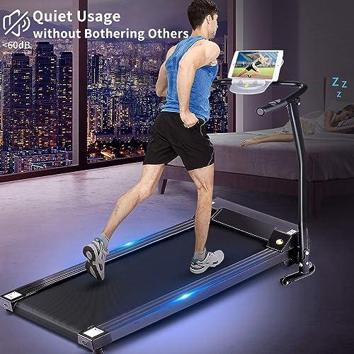 Folding Electric Treadmill