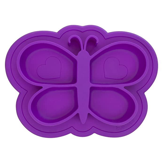 Siliplate Mess-free Silicone Plate Violet
