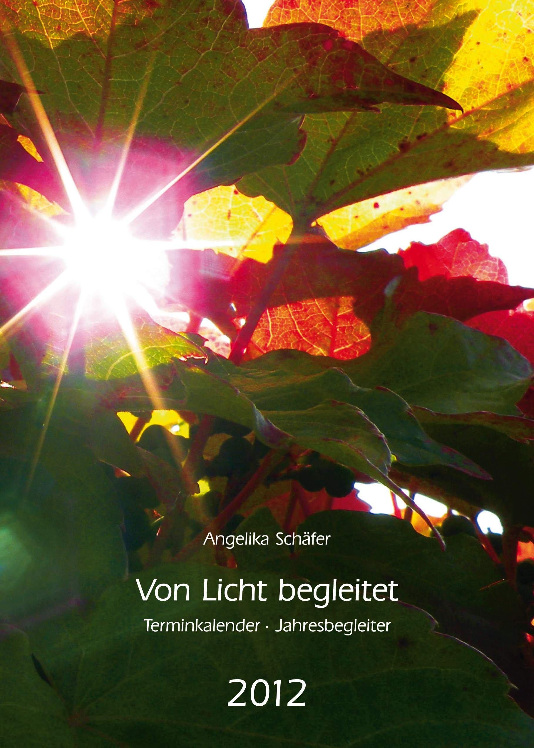 Von Licht begleitet - Terminkalender, Jahresbegleiter 2012