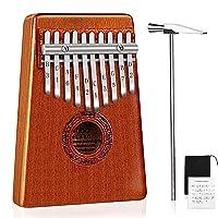 Deals on Mugig 10 Keys Kalimba Thumb Piano w/Tuning kit Hammer