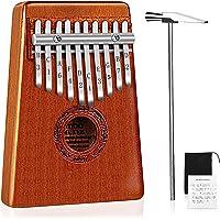 Mugig 10 Keys Kalimba Thumb Piano with Tuning kit Hammer