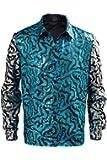Tiger King Joe Exotic Sequin Shirt Costume Halloween Cosplay 2020 Vintage Shirts for Men