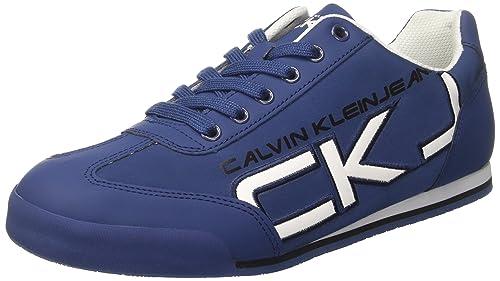 Zapatillas Hombre Para Jeans Cale Klein Smoothpatent Matte Calvin HP1TwP