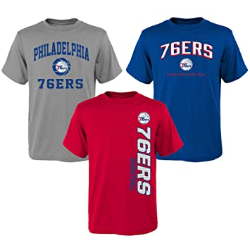 Outerstuff teen-boys 3 NBA juventud 8 – 20 76ers 3 piezas Camiseta Set,