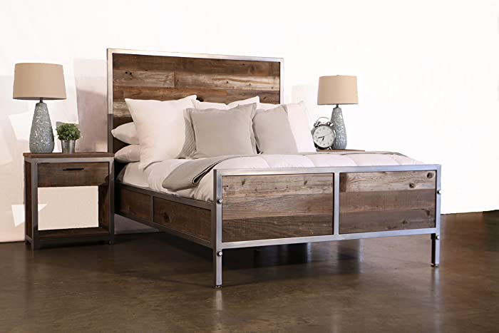 Merveilleux Modern Reclaimed Wood Bedroom Set