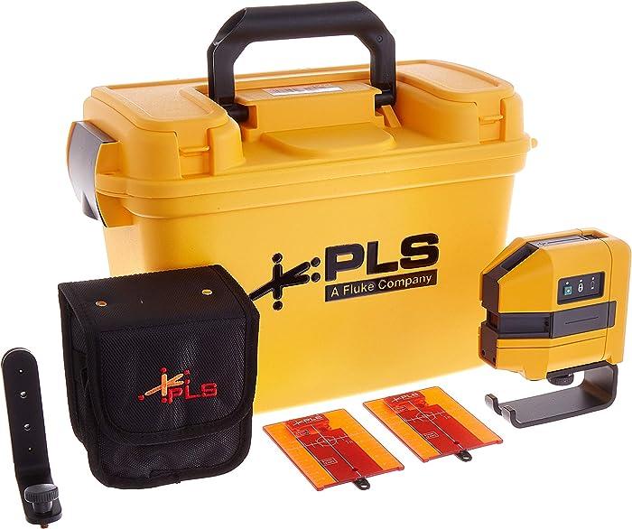 Best 3-point laser level: PLS 3-Point Red Laser Kit